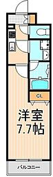 MAINGRANDIA ASAKUSA[6階]の間取り