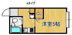 メゾン・ド・フォーレ[1階]の間取り
