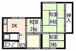[一戸建] 大阪府岸和田市下野町4丁目 の賃貸【/】の間取り