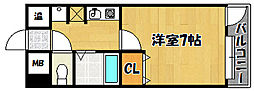 兵庫県神戸市西区南別府2の賃貸マンションの間取り