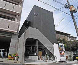 京都府京都市北区紫竹牛若町の賃貸アパートの外観