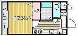 Mina Koti[3階]の間取り