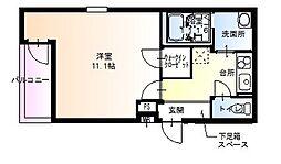 フジパレス新金岡[3階]の間取り