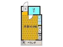 メゾンケイヒン[4階]の間取り