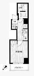 神奈川県横浜市南区吉野町2の賃貸マンションの間取り