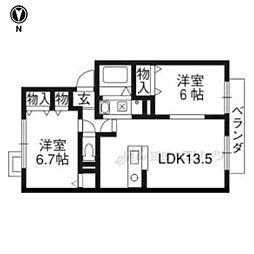 阪急京都本線 長岡天神駅 徒歩16分