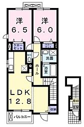 アランチャートI[2階]の間取り
