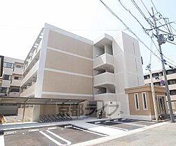 京都府京都市山科区勧修寺西金ケ崎の賃貸マンションの外観