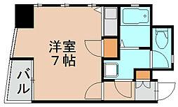 ダイナコート千代県庁口[7階]の間取り