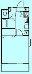ラフィーネ溝ノ口[3階]の間取り