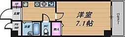 大阪府大阪市北区菅原町の賃貸マンションの間取り