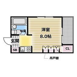 MAISON YAMATO[5階]の間取り