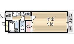 フォレスト醍醐[117号室号室]の間取り