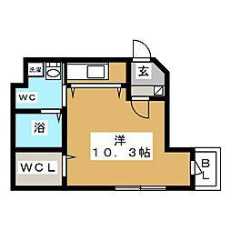 Prestige Sapporo[2階]の間取り