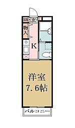 オンワード谷塚[305号室]の間取り