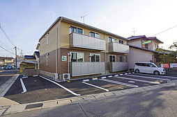 岡山県岡山市中区平井7丁目の賃貸アパートの外観