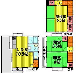 [一戸建] 埼玉県草加市西町 の賃貸【/】の外観