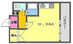 マスターズエル松ノ浜[303号室]の間取り