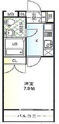 GLAハート飾磨A(北側)[205号室]の間取り