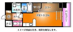 KATAYAMA BLDG20--[603号室]の間取り