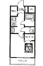 [テラスハウス] 兵庫県西宮市門前町 の賃貸【兵庫県 / 西宮市】の間取り
