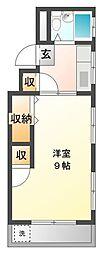 第二富士レジデンス[2階]の間取り