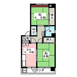 明興産業ビル[3階]の間取り
