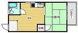 シティハイツ15[2階]の間取り