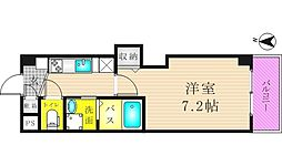 リバーライズ東小橋II[302号室]の間取り