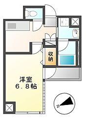 エルスタンザ千代田[6階]の間取り