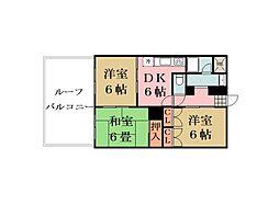 コンフォートT・K[4階]の間取り