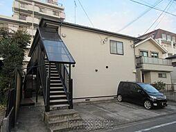 神奈川県相模原市中央区由野台1丁目の賃貸アパートの外観