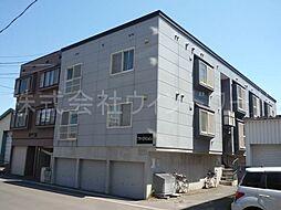 北海道札幌市白石区栄通15丁目の賃貸アパートの外観