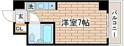 ベル東須磨[2階]の間取り