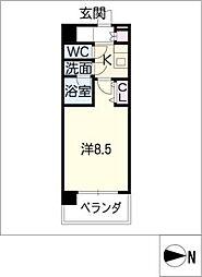 コンフォリア新栄[3階]の間取り