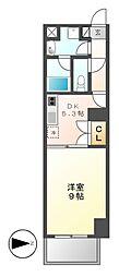 レジディア東桜[10階]の間取り