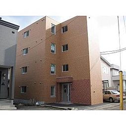 北海道札幌市西区八軒九条東4丁目の賃貸マンションの外観