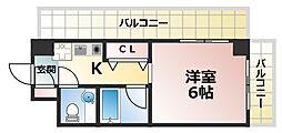 クレール六甲[2階]の間取り