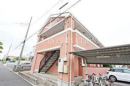 埼玉県吉川市美南5丁目の賃貸アパートの外観