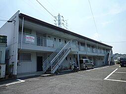 大阪府河内長野市松ケ丘西町の賃貸アパートの外観