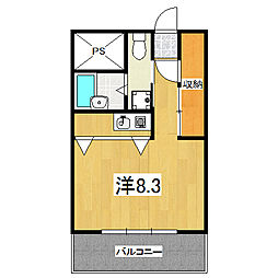 SUMAU[3階]の間取り