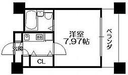 HF梅田レジデンスTOWER[1205号室]の間取り