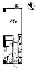 サンサーラ[4階]の間取り