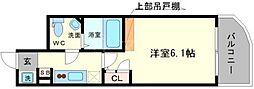 セレニテ高井田[7階]の間取り
