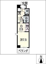 Amenity東陽[5階]の間取り