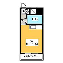 ステイタスマンション博多駅南[1階]の間取り