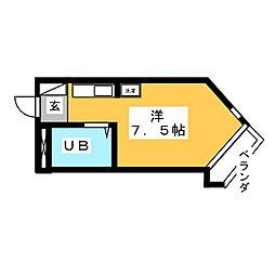 BELLE TOPIA 稲沢 V[2階]の間取り