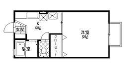 セジュール元町[1階]の間取り