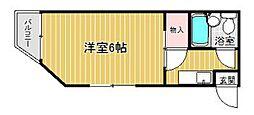 PLEAST愛宕III[1階]の間取り