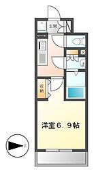 NS ZEAL大曽根[14階]の間取り